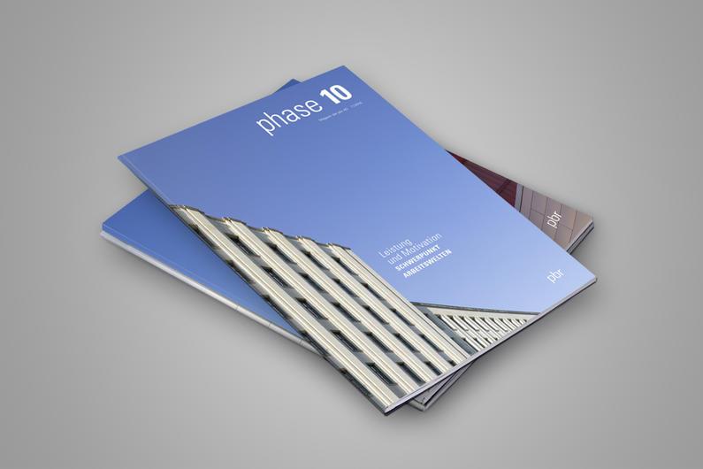 "pbr | Kundenmagazin ""phase 10"""