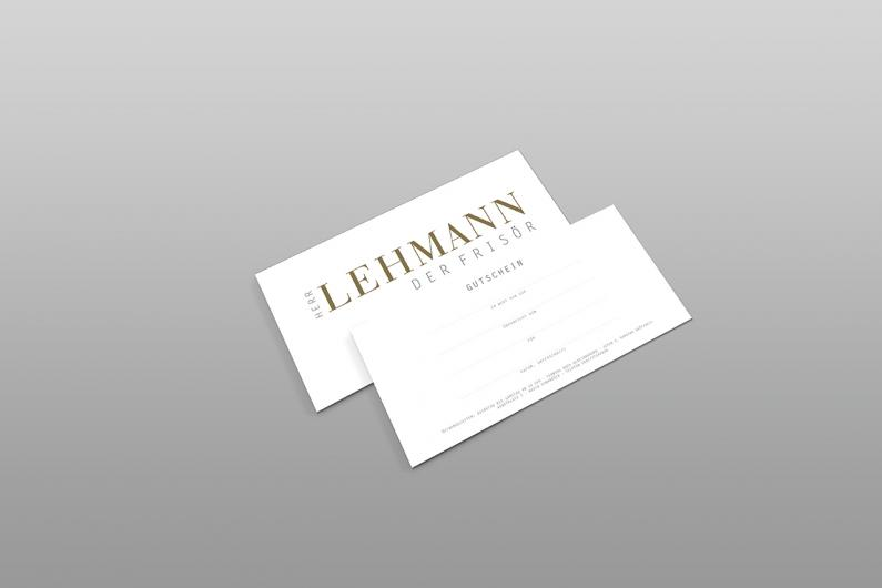 Herr Lehmann der Frisör |Geschäftsausstattung