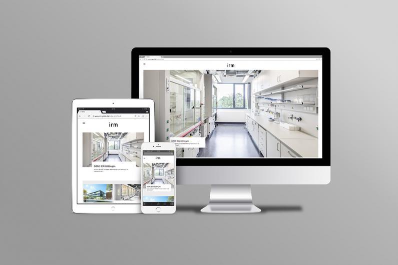 irm Ingenieurbüro | Website