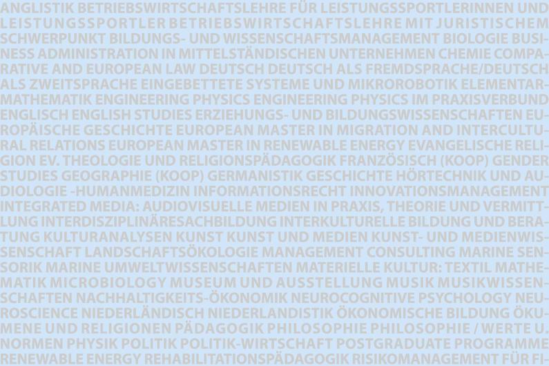 Carl von Ossietzky Universität Oldenburg |Gestaltung Präsidiumsflur