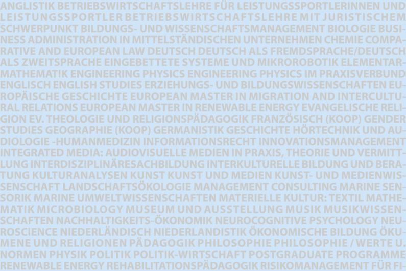Carl von Ossietzky Universität Oldenburg  Gestaltung Präsidiumsflur
