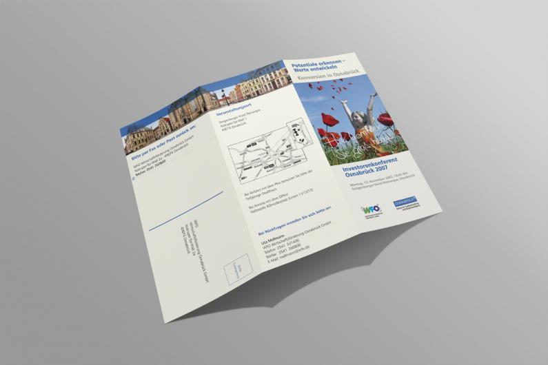 WFO Wirtschaftsförderung Osnabrück | Informationsflyer