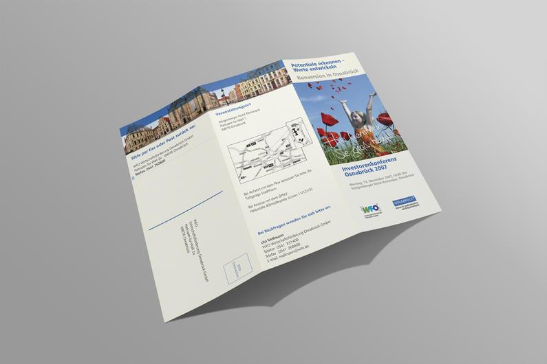 WFO Wirtschaftsförderung Osnabrück   Informationsflyer