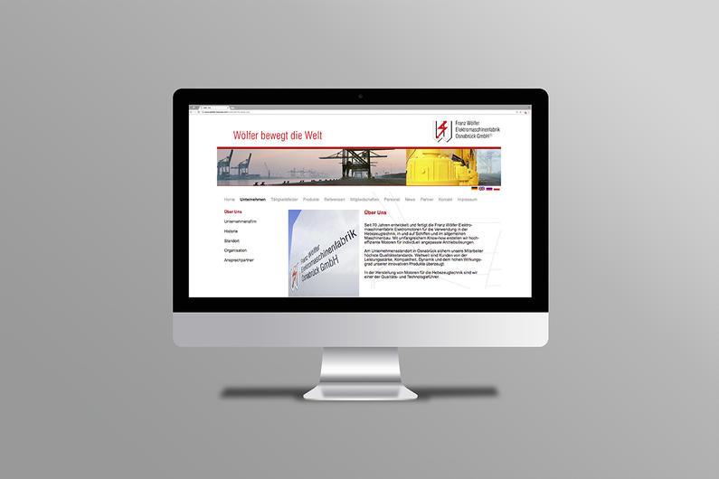 Franz Wölfer Elektromaschinenfabrik | Website